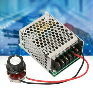 220v Ac Single phase Motor Speed Controller Governor 4kw Dc Speed Control