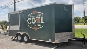 2018 Lark 8 5 X 18 Coffee Concession Trailer Coffee Shop On Wheels For Sale