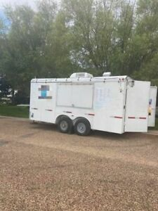 8 X 16 Snowball Concession Trailer Mobile Shaved Ice Business For Sale In Ka