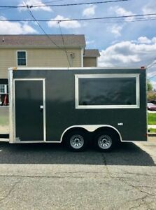 2016 7 X 14 Food Concession Trailer Tailgating Trailer For Sale In New Jer