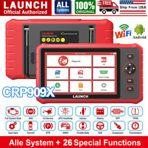 New Launch X431 Crp909x Automotive All System Obd2 Scanner Diagnostic Scan Tool