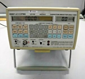 Sencore Lc102 Capacitor Inductor Analyzer Auto z