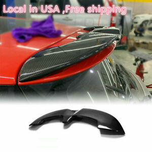 For Mini Cooper S F56 Jcw Style Carbon Rear Roof Spoiler Wing Lip Bodykits