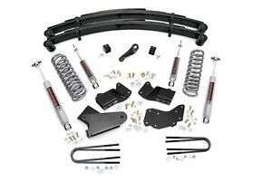 Rough Country 4 Lift Kit Fits 1984 1990 Bronco Ii 4wd W N3 Shocks Suspension