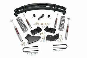 Rough Country 4 Lift Kit fits 1984 1990 Ford Bronco Ii 4wd Suspension