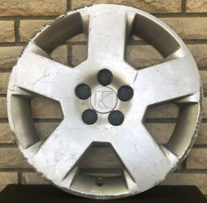 Oem 17 Inch Silver Hubcap Wheel Cover 5 Spoke From A 2007 Saturn Aura Xe