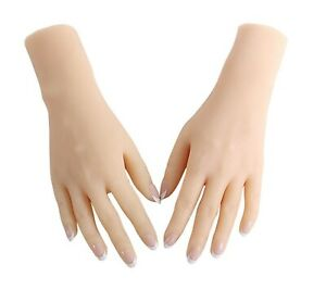 1pair 2pcs lifelike Female Hand Stay Bent Mannequin Display Jewelry Model Props