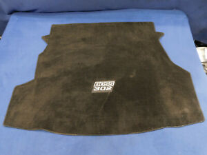 12 13 Ford Mustang Boss 302 Rear Trunk Flor Mat Good Used Take Out H90