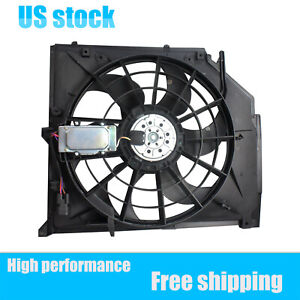 New Radiator Cooling Fan Assembly For 99 05 Bmw E46 325i 330i 330ci 17117561757