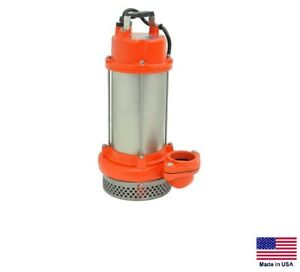 Submersible Sump Pump Commercial Residential 1 2 Hp 115v 4 080 Gph Nf