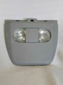 04 08 Ford F 150 F150 Overhead Console W Dome Lights Roof Rail Gray