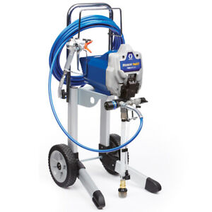 Graco Magnum Pro X17 Cart Airless Paint Sprayer 17g178 Pro17 A b Condition