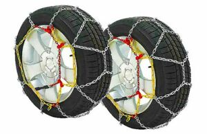 Set Snow Chains To Tuning 9mm Homologated Measure 110 215 60 16 235 45 17