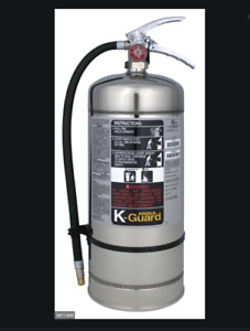 K ansul Guard Fire Extinguisher K01 3 Stainless Steel 6 Liter Wet Chemical