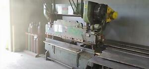 Chicago Dreis And Krump Press Brake 8 X 60 Ton With Back Gauge