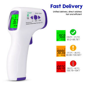 Medical Non contact Body Forehead Ir Infrared Laser Accurate Digital Thermometer