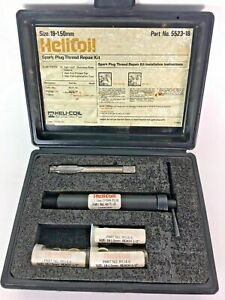 Helicoil 5523 18 Thread Repair Kit For Spark Plugs 18mm X 1 50