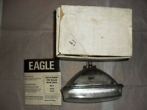 Lucas Sealed Beam Light Size 190 X 125 Mm Rectangular Right Hand Drive Unit