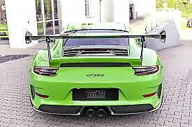 Techart Carbon Fiber Rear Spoiler Profile For 991 2 Gt3rs From My2018