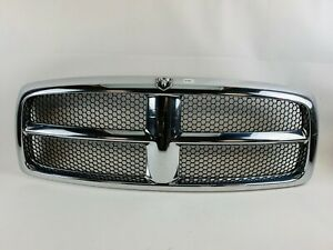 2002 2003 2004 2005 Dodge Ram 1500 2500 3500 Front Chrome Grille Grill Oem