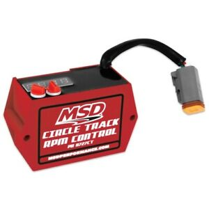 Msd 8727ct Circle Track Digital Soft touch Rpm Limiter Red New