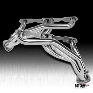 For Chevy Gmc C K 1500 2500 V8 5 0 5 7l Stainless Steel Exhaust Manifold Header