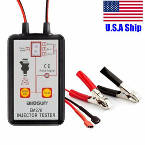 All Sun Em276 Injector Tester Fuel Injector 4 Pluse Modes Fuel System Scan Tool