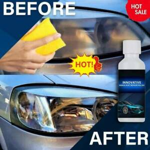 Car Headlight Renewal Polish Car Repair Fluid Liquid Kit Renovation Agent 20ml