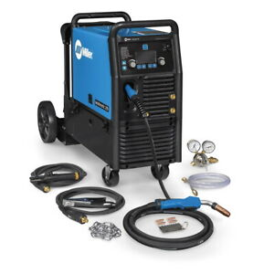 Miller Multimatic 235 Multiprocess Welder W running Gear 951846