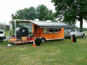 2017 Cynergy 8 5 X 30 Barbecue Food Trailer used Bbq Rig For Sale In Maryland