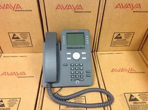 Avaya J169 Sip Ip Desk Phone Grayscale 700513634 Good Condition