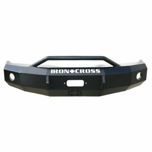 Iron Cross 22 405 92 Push Front Bumper With Bar For Ford E 150 250 350 450 New