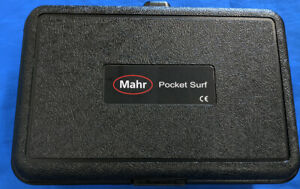 Mahr Federal Pocket Surf Iv 2254010 Portable Surface Roughness Tester Kit In Ca