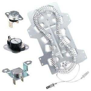 Dc47 00019a Dryer Heater Heating Element For Maytag 35001247 Samsung Kenmore