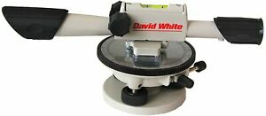 David White 22x Meridian Level With Tripod And Leveling Rod