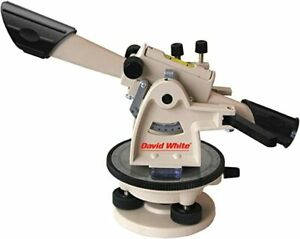 David White 22x Meridian Level transit With Tripod And Leveling Rod