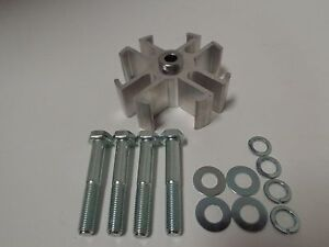 1 Aluminum Radiator Fan Spacer Kit Water Pump Chevy Ford Mopar Sbc Bbc Sb Ford