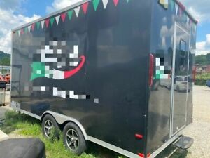 2016 7 X 16 Pizza Concession Trailer Turnkey Ready Pizzeria On Wheels For