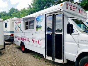 Ready To Work Ford Econoline All purpose Food Truck Mobile Food Unit For Sale