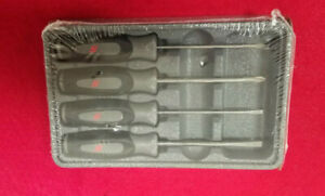 New Snap On Gun Metal Titanium Instinct Handle Mini Screwdriver Set Sgdx40bdt