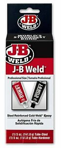 J b Weld 8280 Original Professional Size Steel Reinforced Cold weld Epoxy 10 Oz