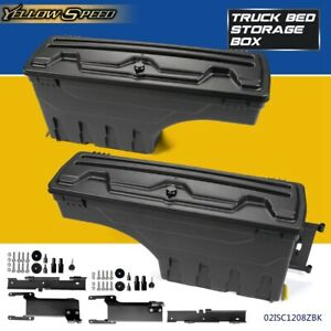 Left Right Rear Truck Bed Storage Box Toolbox For Ford F150 F 150 2015 2019