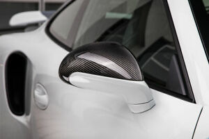 Techart Carbon Standard Mirror Shell For 981 991 In Matte Finish