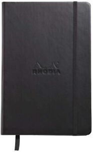 Rhodia Webnotebook Lined A5 Black Cover 5 5x8 25 New