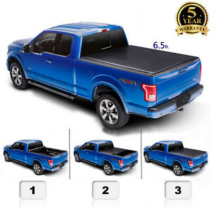 6 5 For 14 19 Silverado Sierra 1500 Roll Up Truck Bed Pickup Tonneau Cover