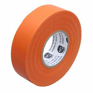 1 Roll Orange Electrical Insulating Tape Vinyl 3 4 Inch 20 Yards Ul Listed