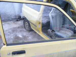 Ford Festiva Passenger S Side Front Window