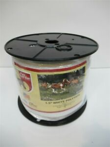 Field Guardian 631666 1 5 White Polytape Electric Fence 656 Ft