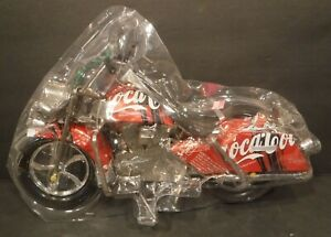 Coca-Cola Motorcycle Harley Style Made From Real Aluminum Coca-Cola Coke Cans