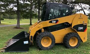 2013 Cat 246c Skid Loader Heat A c 1190 Hrs New Hd Rubber Delivery Available